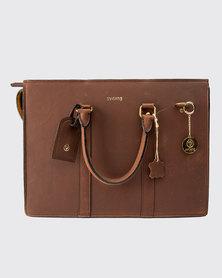 Zvitang Lyon Laptop Bag Brown
