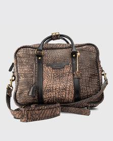 Zvitang Harvard Laptop Bag Buffalo Leather