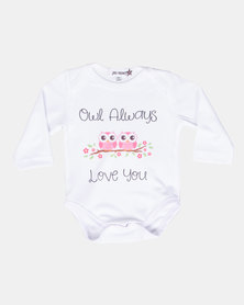 Moederliefde Owl Alays Love You Vest