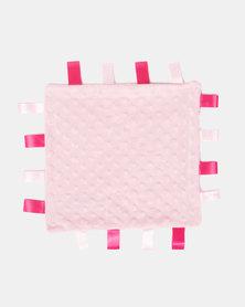 Moederliefde Doodoo Pink Comforter Blanky