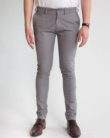 Emme Jeans Skinny Chino Grey