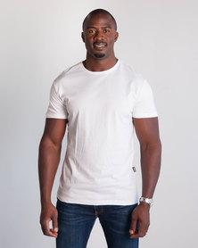 Emme Jeans Regular Crew Neck T-Shirt White