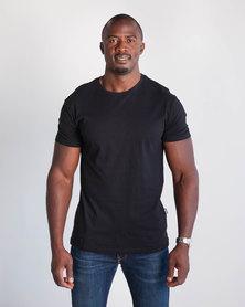 Emme Jeans Regular Crew Neck T-Shirt Black