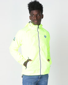 Superdry Hooded Cagoule Yellow (parallel import)