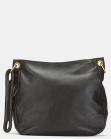 Bossi Fossil Leather Sling Bag Brown