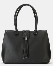 Steve Madden Sawyer Black Handbag