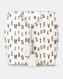 Steve Madden Capri White Backpack