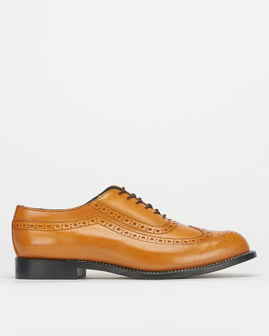 Barker Goodyear Welted Buff-calf Biscuit Formal Shoes