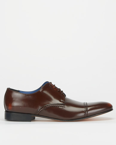 Barker Goodyear Welted Instatique Cognac Formal Shoes