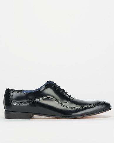 Barker Fashion 80 Cobbler Black Formal Shoes