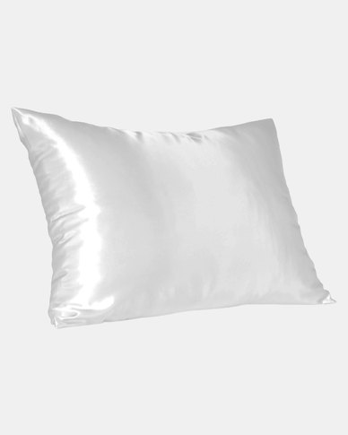 Cream Standard Satin Pillow Slip by Dear Deer
