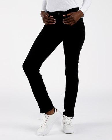 712 Slim Jeans Black