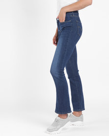 715 Bootcut Jeans Blue