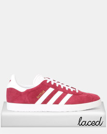 adidas Originals Gazelle Sneakers CBURGU/FTWWHT/GOLDMT