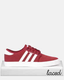 adidas Originals Seeley Sneakers CBURGU/FTWWHT/FTWWHT