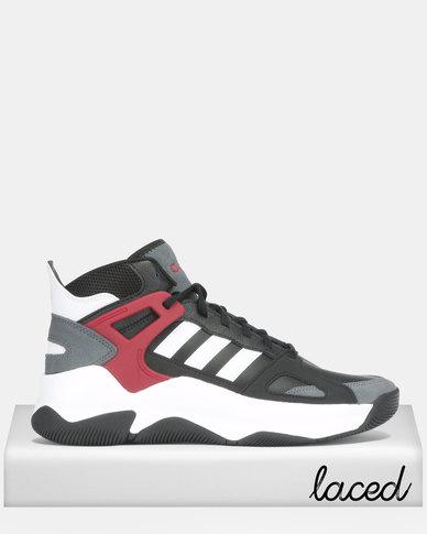 adidas Originals Streetspirit Sneakers CBLACKFTWWHTACTMAR