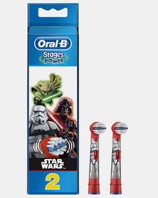 Stages Power Kids Starwars Refills 2's by Oral B