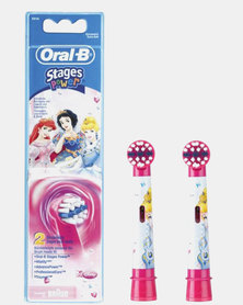 Refill Stages Kids Princess 2 Cartridges by Oral B