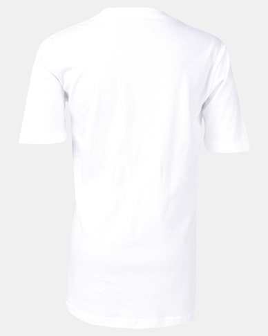 Quiksilver Boys Byron Boogie Pocket T-Shirt White