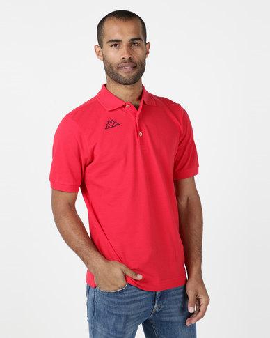 Kappa Life Miss Polo Shirt Red