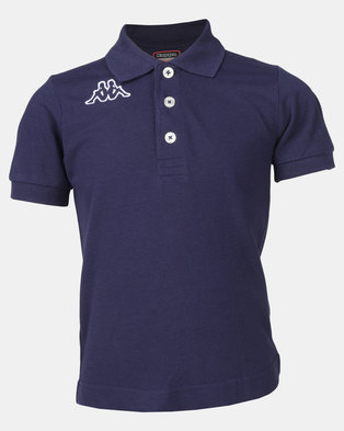 Kappa Life Miss Polo Shirt Blue