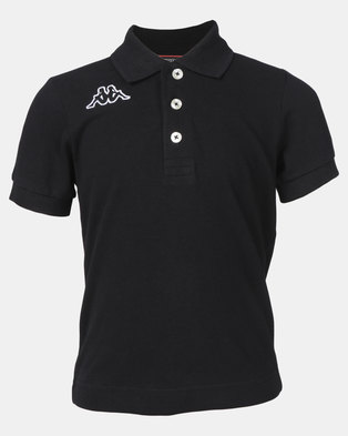 Kappa Life Miss Polo Shirt Black