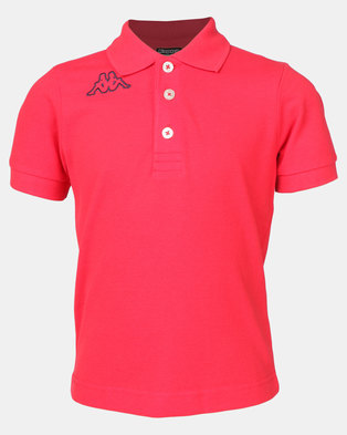 Kappa Life Miss Polo Shirt (Y) Red