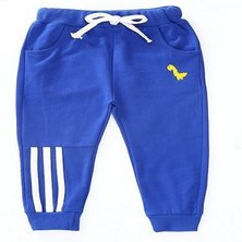Boys Are Kings  Track Pants Blue