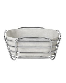 blomus Bread Basket Delara Square Small Moonbeam