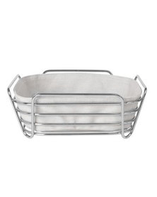 blomus Bread Basket Delara Square Long Moonbeam