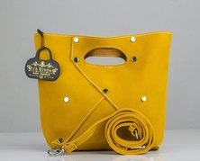 Trendy Thoby Le Queen Yellow Tunica Handbag