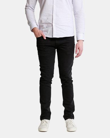 Emme Jeans Slimfit Creased Jeans Black