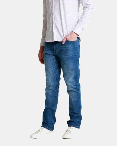 Emme Jeans Regular Light Wash Jeans Blue
