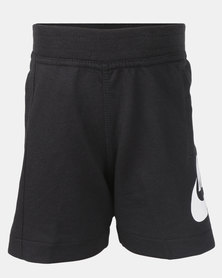 Nike Boys YA FT Alumni Shorts Youth Black