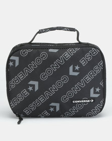 Converse Mills Black Multi Lunch Tote Bag