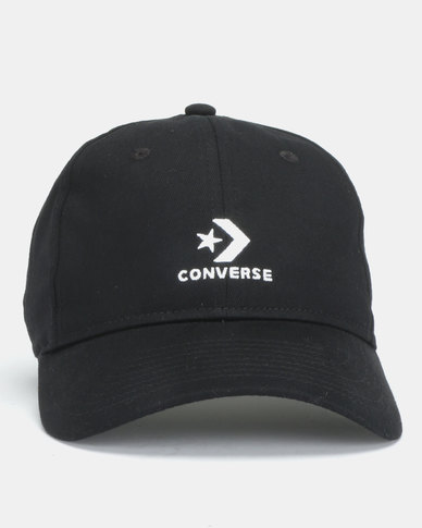 Converse Washed Cap Black