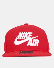 Nike Pro Air Cap University Red