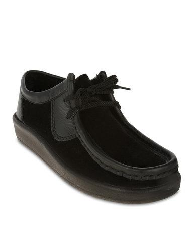 grasshoppers spoiler casual shoes black  zando