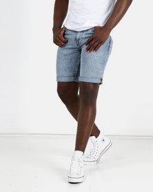 New Look Mens Chino Shorts Light Blue