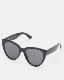 New Look Oversized Cat Eye Sunglasses Black