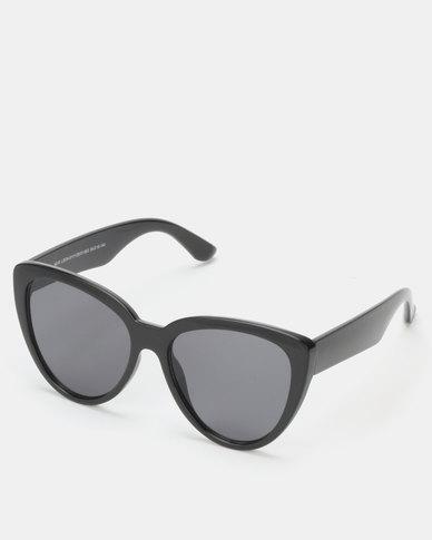 New Look Oversized Cat Eye Sunglasses Black