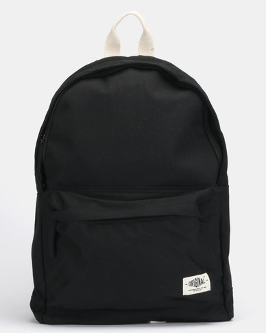 New Look Canvas Backpack Black