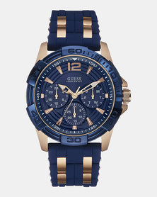 Guess Oasis Watch Blue