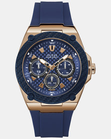 Guess Legacy Watch Blue
