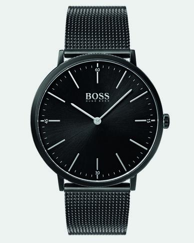Hugo Boss Horizon Metal Strap Watch Black