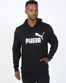 Puma Sportstyle Core ESS Hoodie FL Big Logo Black