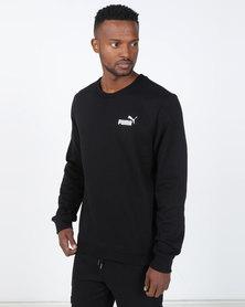 Puma Sportstyle Core ESS Logo Crew Sweat FL Black