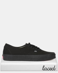 Vans Classic UA Authentic Black Sneaker