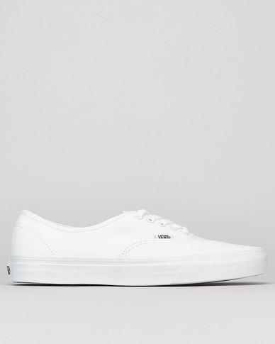 Vans Classic UA Authentic True White