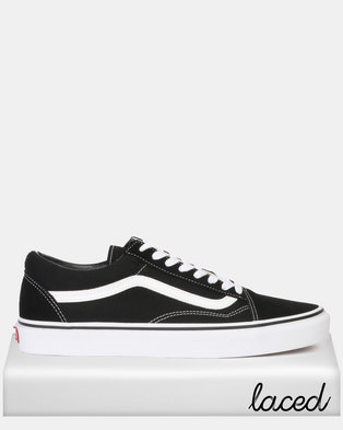 021bdcb09a58d3 Vans Classic UA Old School Black/White Sneaker